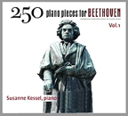 250 Piano Pieces for Beethoven, Vol. 1: CD