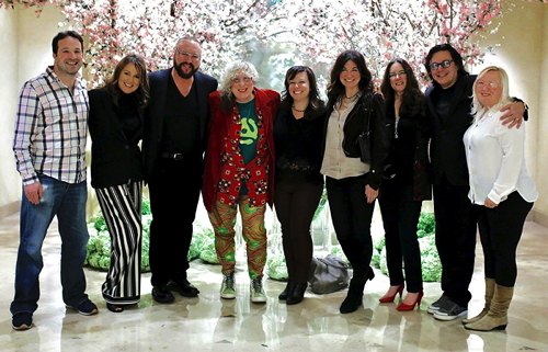 Adam Parness, Pam Sheyne, Desmond Child, Allee Willis, Michelle Lewis, Shelley Peiken, Alex Shapiro, Rudy Perez, Betsy Perez