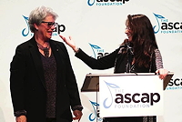 Alex Shapiro presents the ASCAP Foundation Masters Award to Melinda Wagner